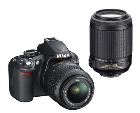 Nikon D3100 + 18-55 AF-S VR / 55-200 AF-S VR