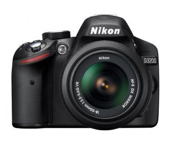 Nikon D3200 + 18-55 AF-S VR
