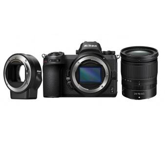 Nikon Z6 + 24-70 f/4 S + FTZ adaptér s 64GB XQD G