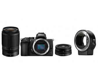 Nikon Z50 + 16-50 VR / 50-250 VR + FTZ adaptér